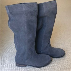 Sole Society Grey Boots